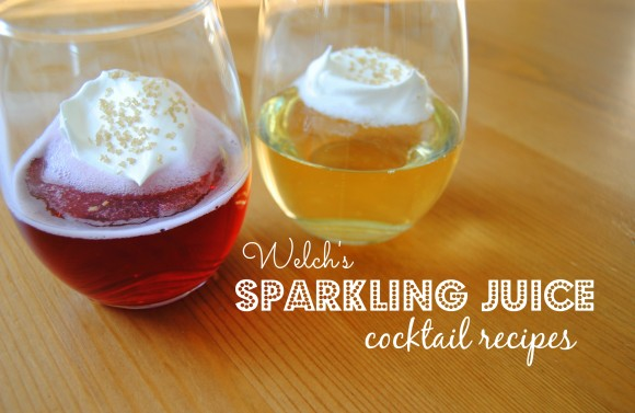 Welch's Sparkling Juice cocktail ideas