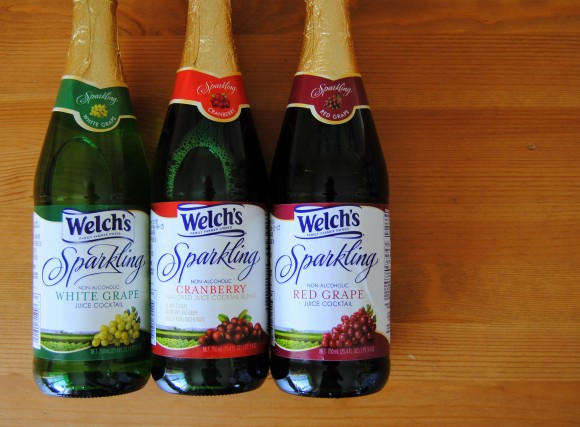 Welch's Sparkling Juice cocktail recipes #shop