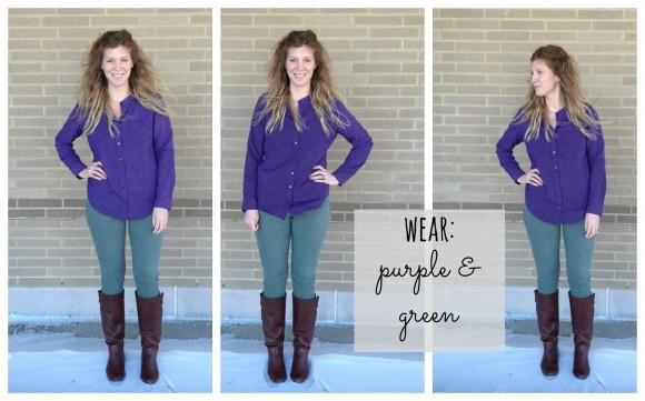 purple kohls shirt collage 0
