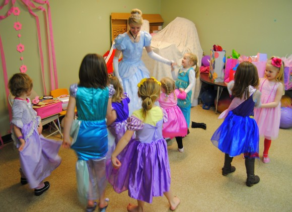 enchanted birthday party