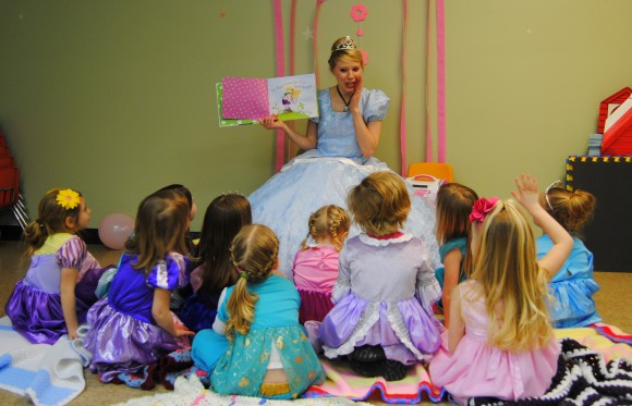enchanted princess party indianapolis