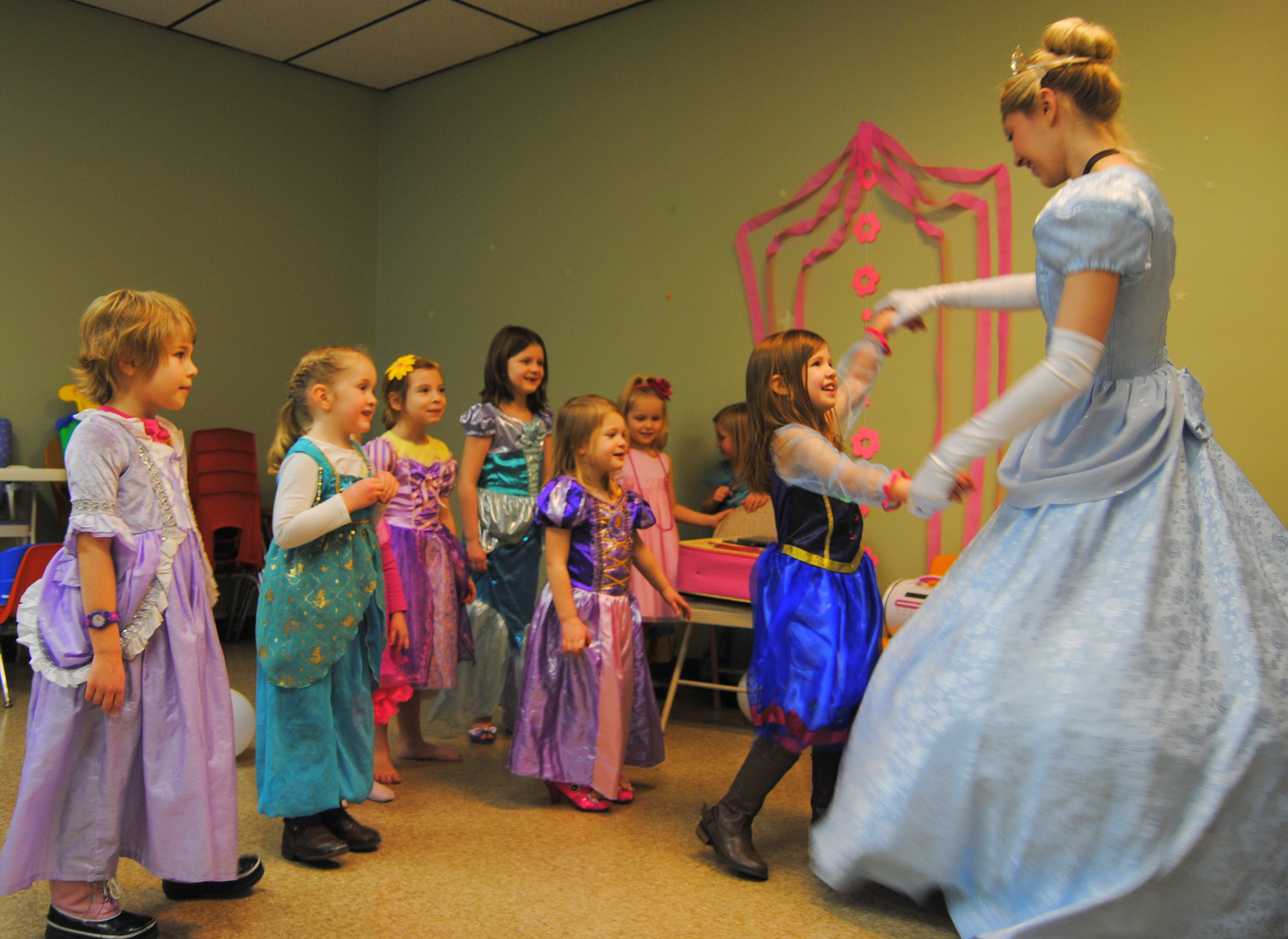 enchanted princess parties