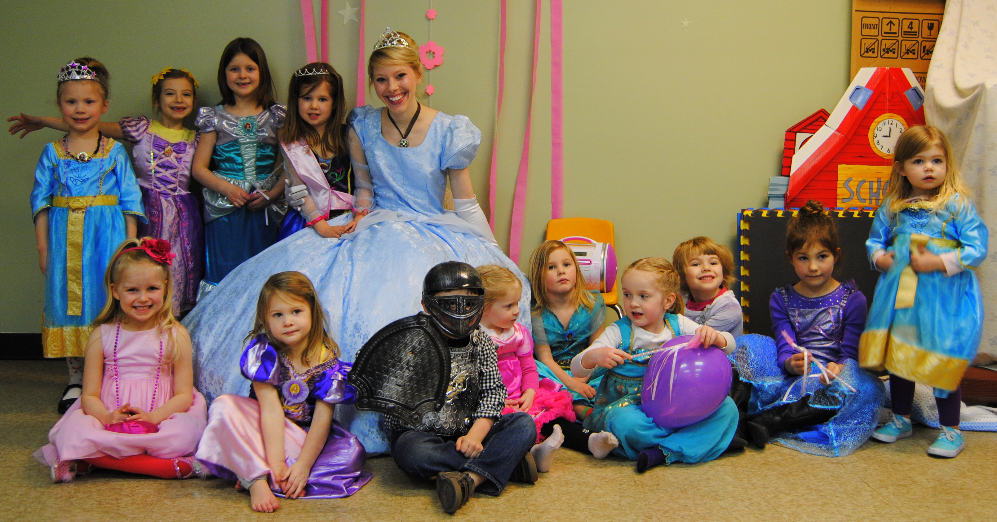 princess birthday party ideas // Enchanted Princess Party