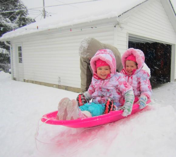 sledding 0