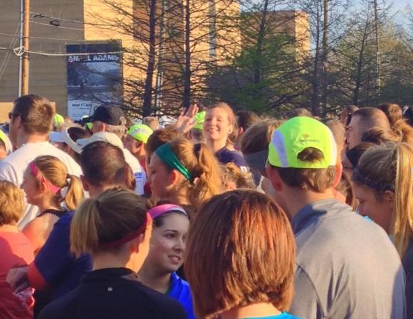 running a half marathon 0