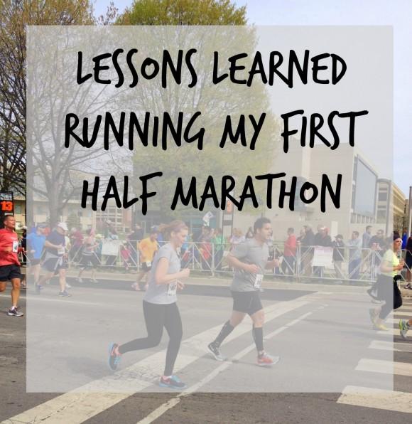 running your first half marathon 1