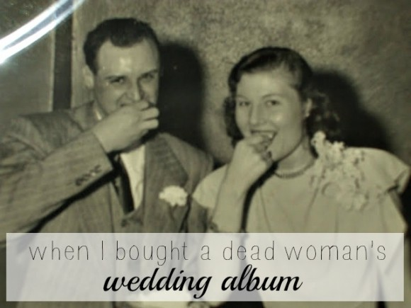 when i bought a dead womans wedding album