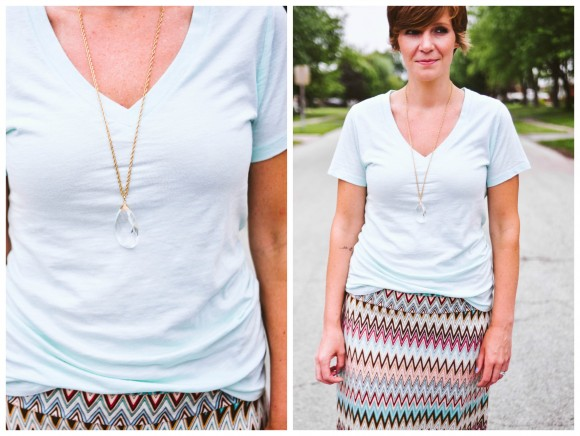 chevron maxi skirt stitch fix