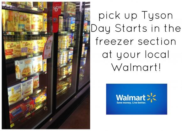 tyson day starts at walmart store