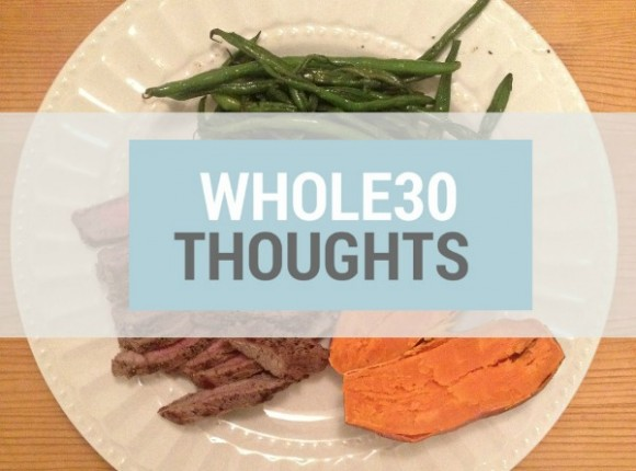 Whole30 challenge thoughts