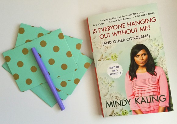 Is Everyone Hanging Out With Me by Mindy Kaling