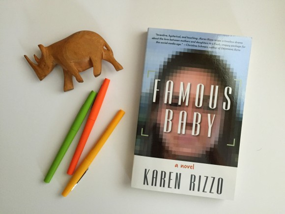 Famous Baby by Karen Rizzo