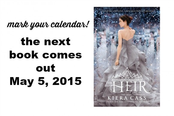 The Heir by Kiera Cass launch date