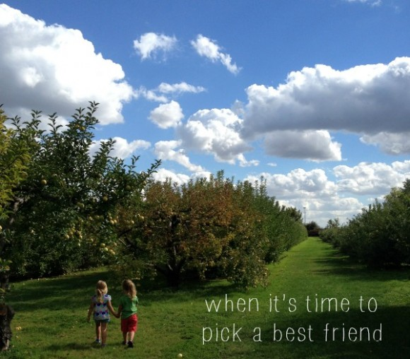 choosing a best friend