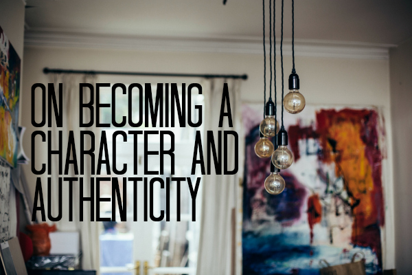 becoming a character