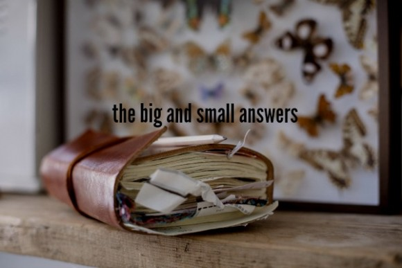 the big and small answers