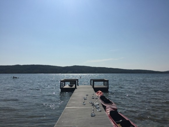 Boyne Mountain Resort Deer Lake pier