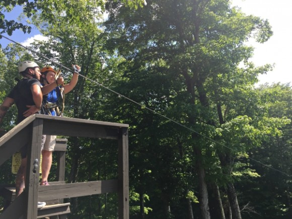 Boyne Mountain Resort ziplining