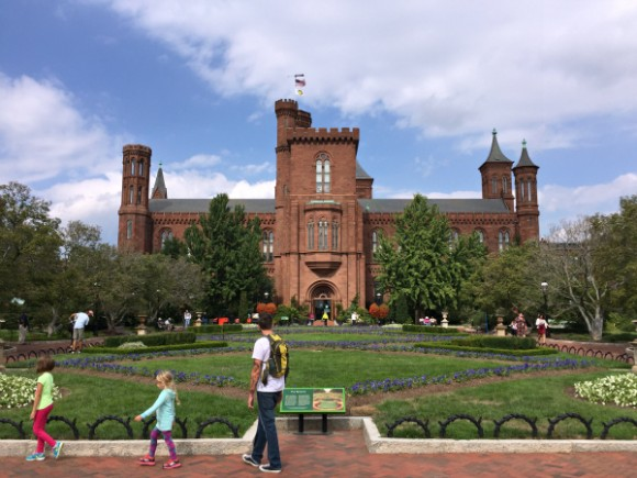 washington dc smithsonian castle