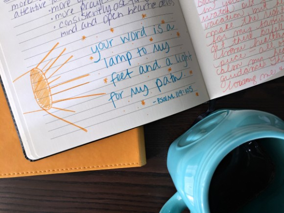 journaling during your quiet time fail