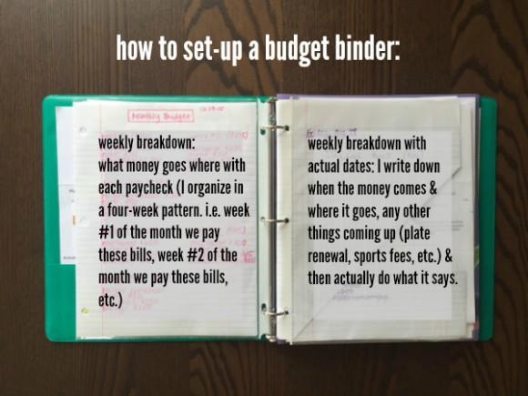 budget binder 2