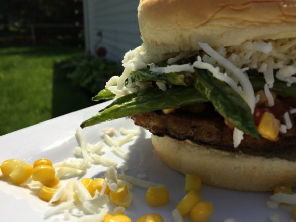 Indiana farmers pork patty