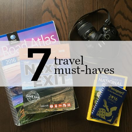 travel book must haves button