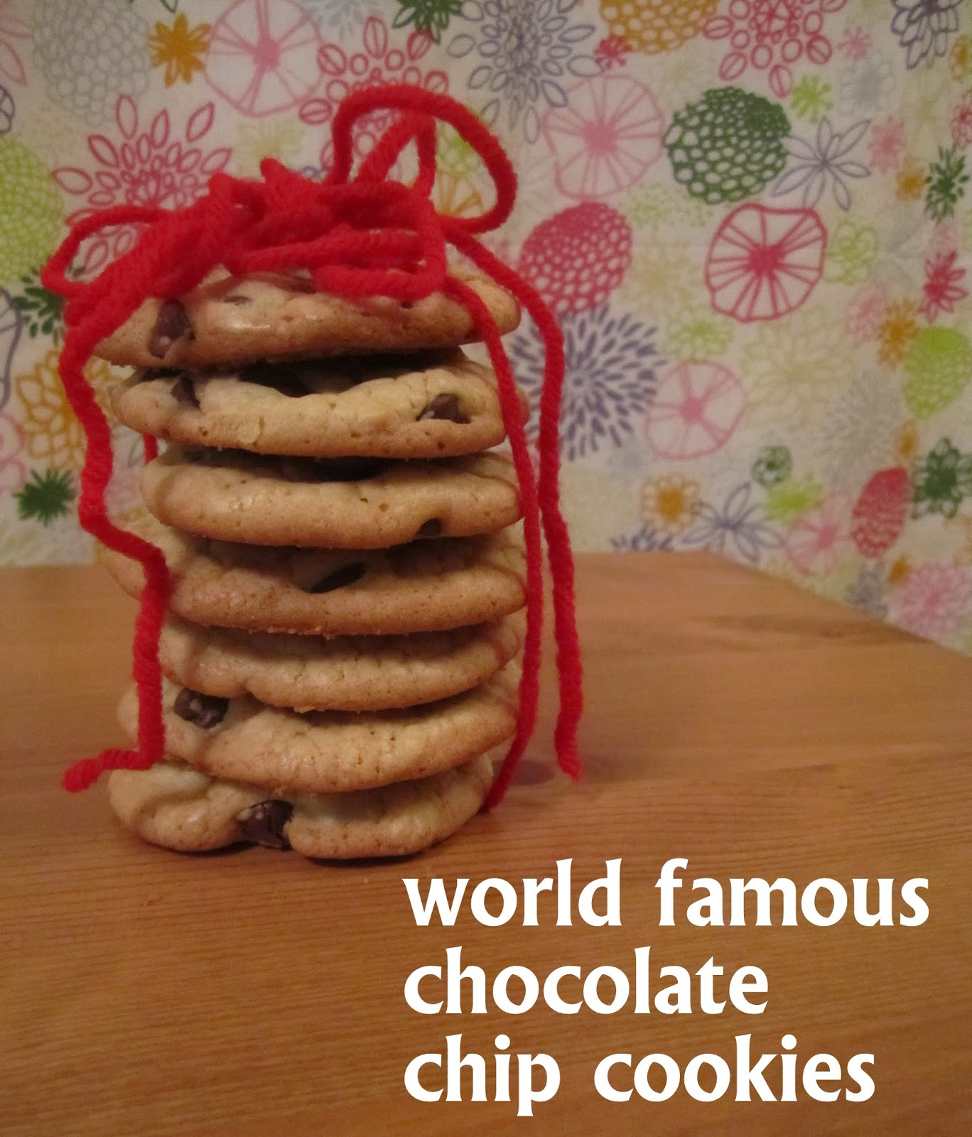 World Famous Chocolate Chip Cookies - Pumpkin Chocolate Chip Cookies